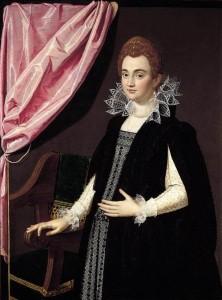 PULZONE, Scipione - Portrait of a Noblewoman 1594