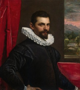 ROBUSTI, Domenico - Portrait of a Man 1586 89