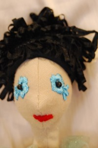 Leonóra fekete tépett